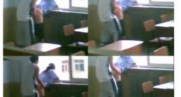 邯郸大学613事件学生教室内后插式啪啪野战