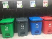 垃圾分类的垃圾桶颜色各代表了什么?